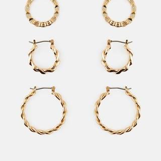 Náušnice pre ženy Pieces - zlatá